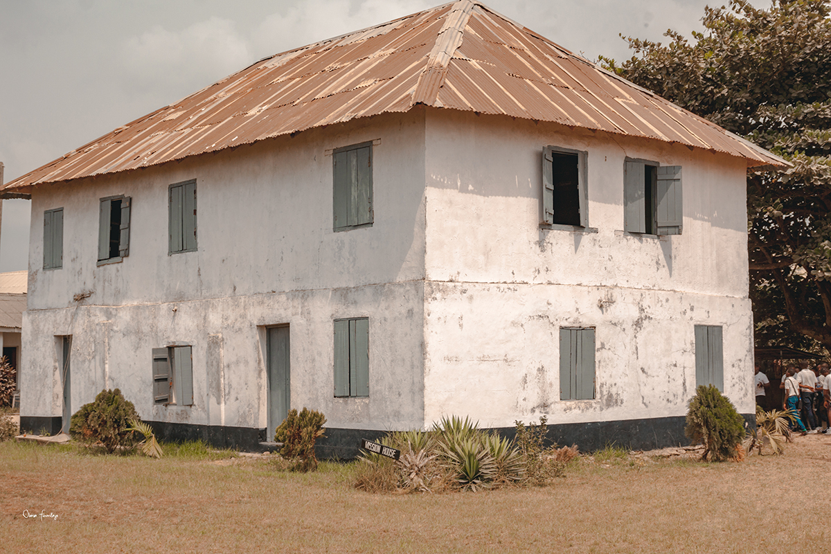 the first story building in nigeria, badagry
