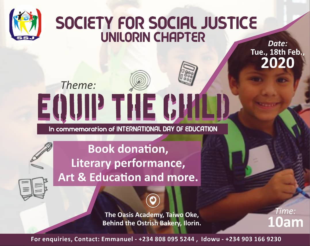Equip the Child project with SSJ